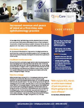 Miami Eye Institute Case Study