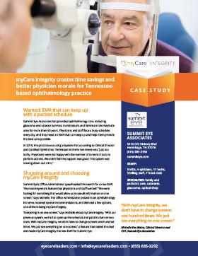 Summit Eye Associates Case Study